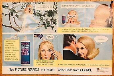 1966 Hair Color Advertisement - 10 inches by 14 inches