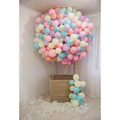Fabulous Balloon Backdrop Birthday Show Decoration Banner Photo Background 5x7ft