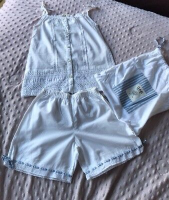 Gabi Girls Sz 4-6 Yrs Top & Shorts Set In A Pouch From A Boutique In Barcelona