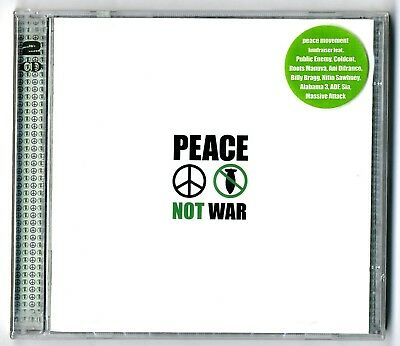 Double Cd ★ Peace Not War ★ Neuf Sous Blister (2Cd) 31 Titres Compilation 2002 ★