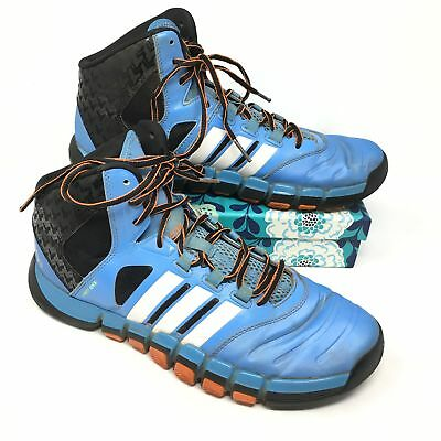 new style 212ce d14dd Mens Adidas AdiPure Crazy Ghost Size 10 Sneakers Shoes Blue Orange Black  S14