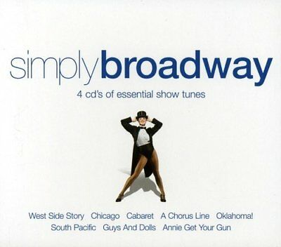 Simply Broadway - 4 Cd's of Essential Show Tunes [CD]