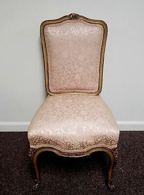 20th Century French Louis the Xv French Ladies Sitting Side Chair
