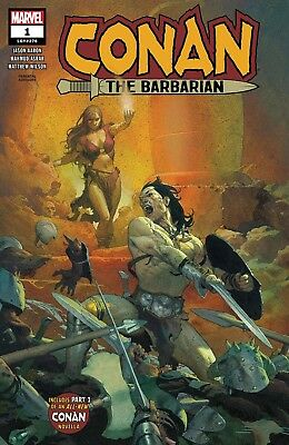Conan The Barbarian V.4 | #1-2 Choice of Covers & Issues | MARVEL | 2019 - NM