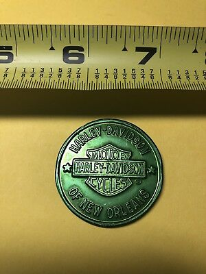 Harley Davidson Motorcycle Of New Orleans Token Coin