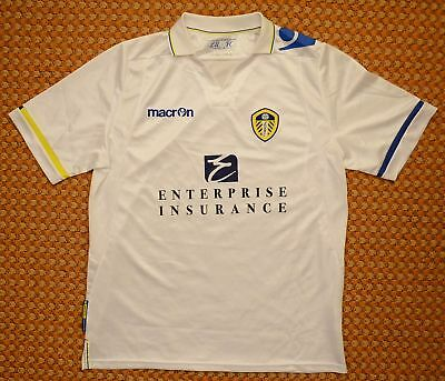 2011 - 2012 Leeds United, Home Football Shirt by Macron, Mens Large - XL