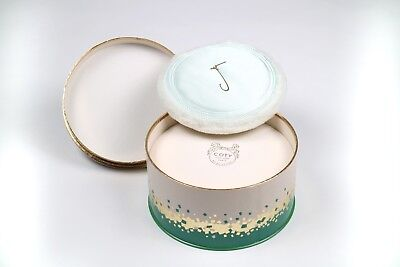 Coty Emeraude Dusting Powder Original Box Vintage NIB