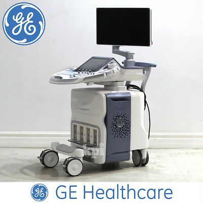 BT17 GE Voluson E6 Ultrasound 3D/4D Machine - System ONLY w/ HDLIVE SonoNT XTD