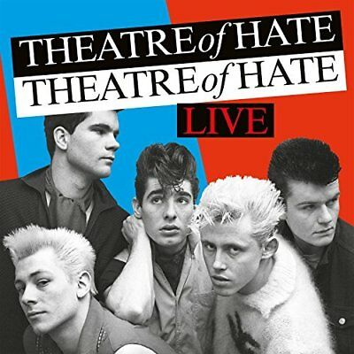 Theatre Of Hate-Live -Live- (Uk Import) Cd New