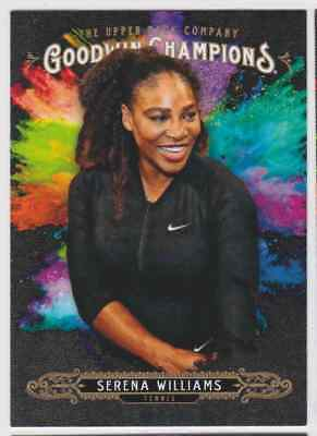 2018 Ud Goodwin Champions Sp Splash Of Color Serena Williams #110