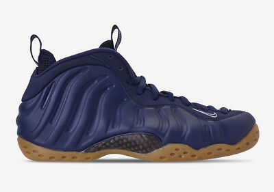 buy online db05b c3ad5 NEW DS 2019 Nike Air Foamposite One Midnight Navy Gum 314996-405