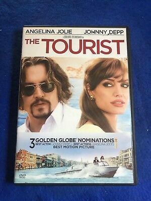 """The Tourist      DVD     """"free-shipping """""""