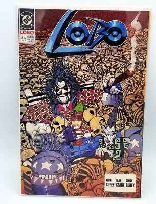 Lobo #4 Feb 1991 NM DC Comics Comic book Comicbooks Original Mini Series