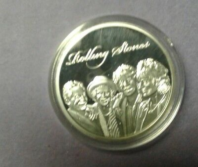 Rolling Stones- Commemorative Coin-Silver Plated