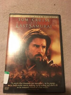 The Last Samurai (2004 DVD; 2-Disc Set, Full-Screen Edition) Tom Cruise New