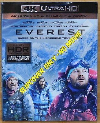 EVEREST 4K Blu-ray Slipcover (COVER ONLY-NO MOVIE DISC)