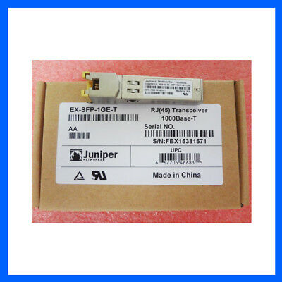 New Sealed Juniper Ex-Sfp-1Ge-T 1000Base-T Transceiver Module (Au Shipping)