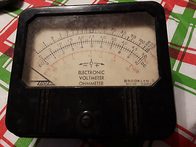 EICO Electronic Voltmeter Ohmmeter