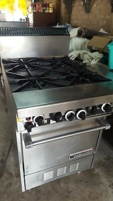 commercial stove oven ,cleaned & serviced