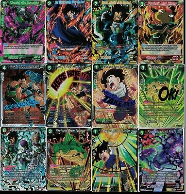 Dragonball Super Card Game Clash Of Fates R SR SPR SCR - Choose Your Cards TB3