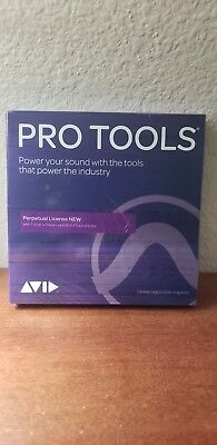 Avid Pro Tools 2018 Software with 1 year of updates +support plan(boxed)