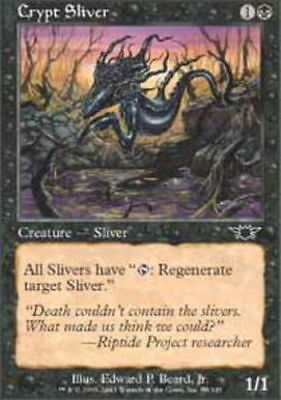 Moderately Played Breathstealer/'s Crypt Visions