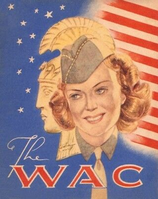 Lot of 5 Postcards - Cover The WAC - Stars & Stripes Stories