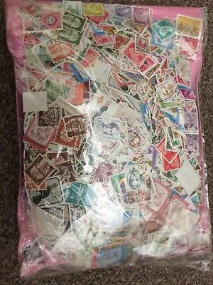 Buy 100 Get 100 Free mixed world stamps great condition off paper 001