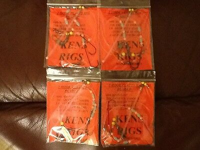 Sea Fishing Rigs Top Quality Flatty Rigs Shore/boat X4