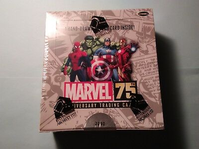 Rittenhouse Archives Marvel 75th Anniversary Factory Sealed SCIFI hobby box