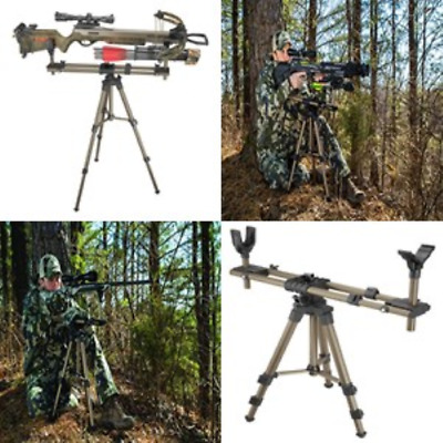 Shooting Rest For Rifles Rotating Carbine Hunting Tripod Target Sighting Stand