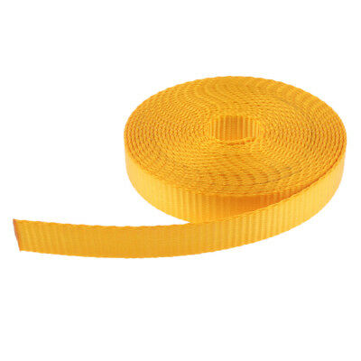5m 23KN UV Resistant Fabric Webbing Straps for Outdoor Rock Climbing, Rescue