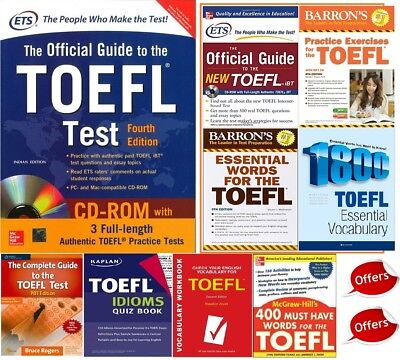 Great collection Official Guide to the TOEFL Test With CD-ROM, 4th PDF + Audio