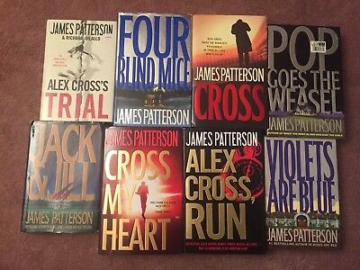 James Patterson Alex Cross Lot Of 26 Complete Set HC/DJ MOST 1st FIRST EDITIONS