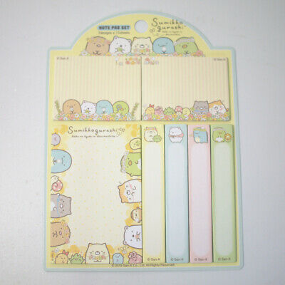 Sanrio Snoopy Peanuts Index Note Pad Paper Notebook Stickers 151191