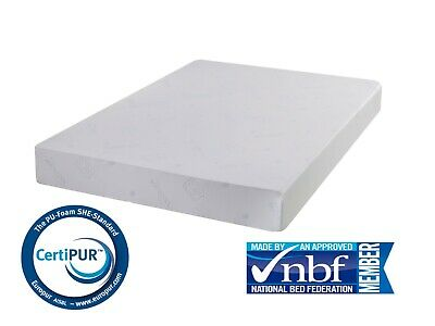 Memory Foam Mattress Orthopaedic Double King Super King Size 3Ft 4Ft 5Ft