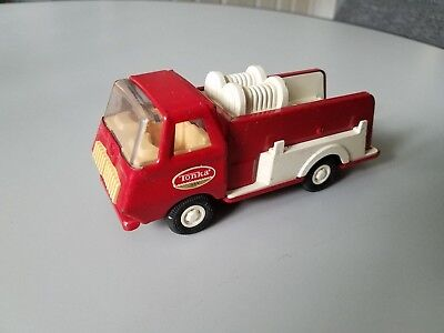 Vintage Tonka Steel Pumper Red Fire Truck 1960s -1970s Mound, Minn. 6""