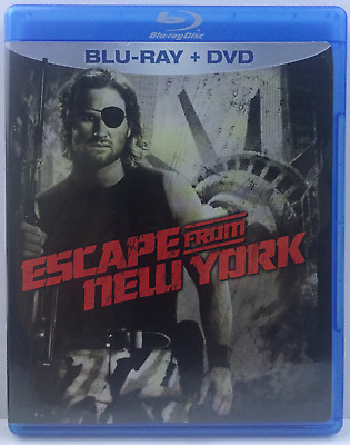 Escape from New York (Single Disc Blu-ray, 2010) Kurt Russell, Lee Van Cleef