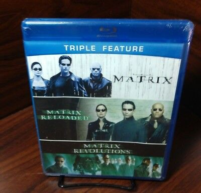 The Matrix Collection (Blu-ray)Brand NEW (Sealed)-Free Shipping with Tracking