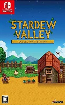 New Nintendo Switch Stardew Valley Collector's Edition Soundtrack CD Japan