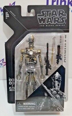 """Star Wars Black Series 6"""" Wave 1 Archive Collection IG-88 Action Figure In Stock"""