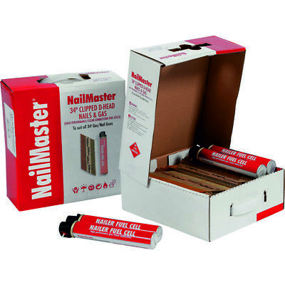Collated Nails & Gas 1st Fix NailMaster / Dart Galv 50,64,75 & 90mm