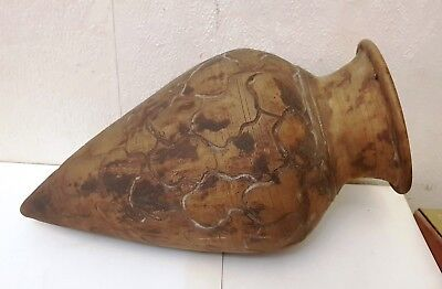 Very Rare Ancient Bronze Age Huge Urartian Pottery Wine Vessel, 13 - 8 c.BC