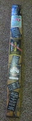 Authentic Jack Daniels White Oak Whiskey Barrel Stave W/ Labels Old No 7