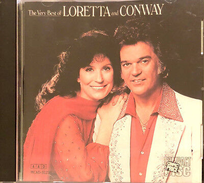 The Very Best of Loretta Lynn & Conway Twitty CD MCA Records Very RARE!!