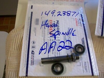 "Headstock Spindle Assembly  3/4""  From 12"" Sears Craftsman Wood Lathe #149-23871"