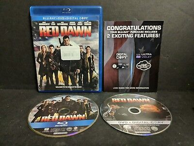 Red Dawn (Blu-ray/DVD, 2013, 2-Disc Set)