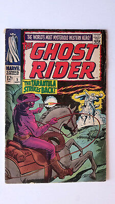 Ghost Rider #5 (1967 Marvel) GD/VG