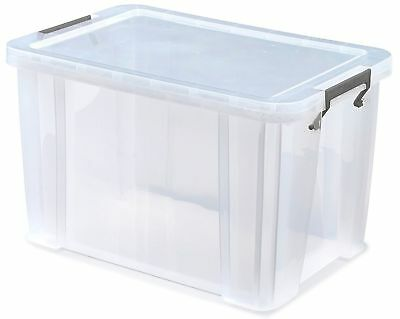 comic storage boxes clear hard plastic and stackable