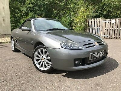 MG MGF MG TF 135 1.8 2003 Metallic Grey